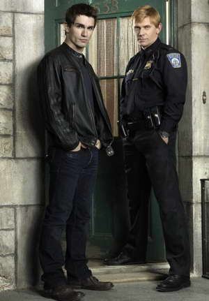 Mark Pellegrino and Sam Witwer in Being Human