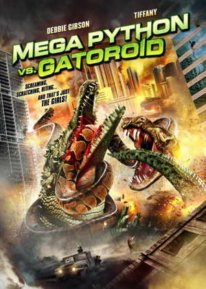 Mega Python vs Gatoroid movie poster