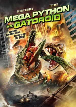 Mega Python vs Gatoroid movie poster