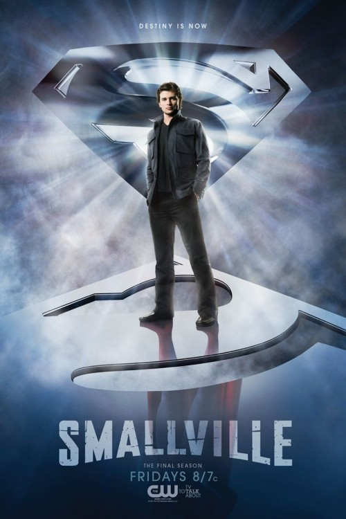 Smallville promo art Season 10 - Destiny is Now