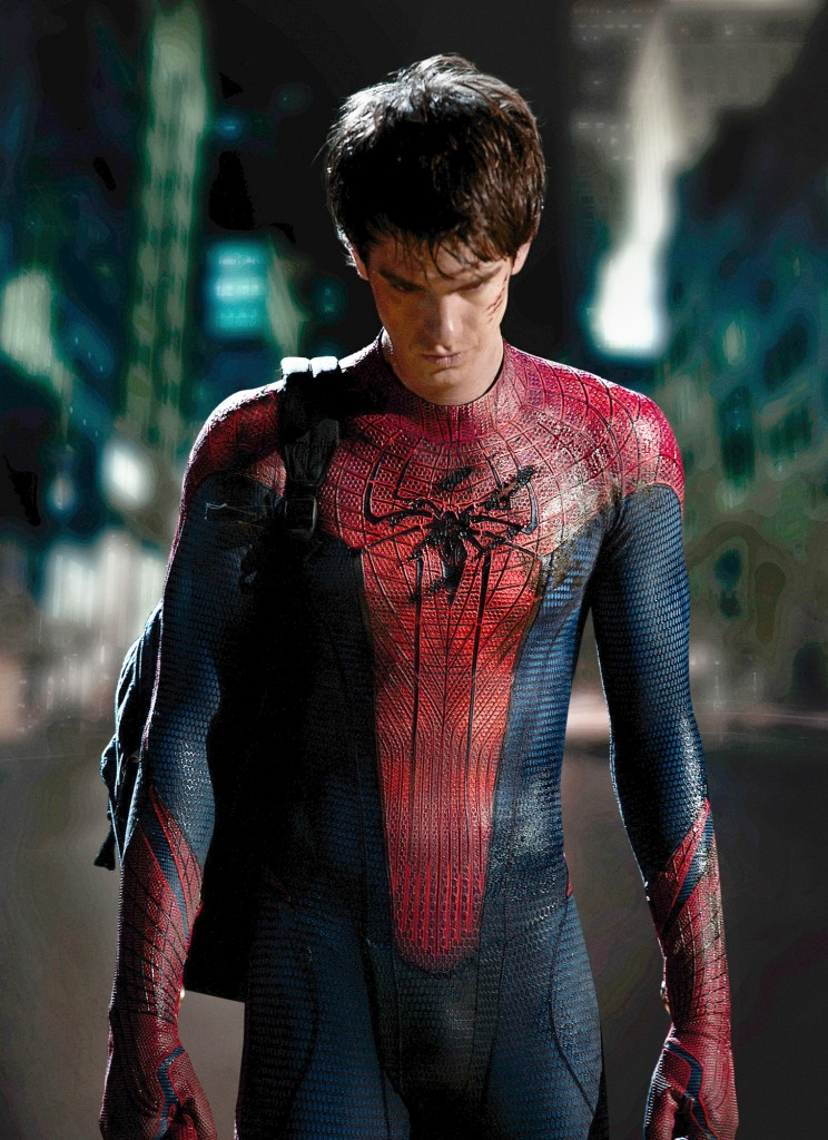 Spider-Man Official first look at Andrew Garfield