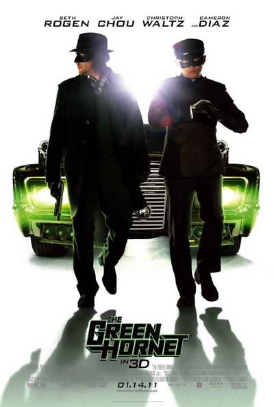 'The Green Hornet' movie poster