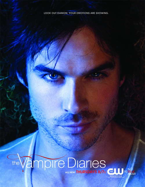 ian somerhalder in the vampire diaries promo poster