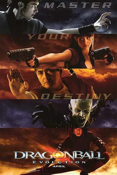 'Dragonball Evolution' movie poster