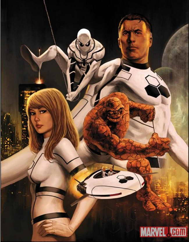 'Future Foundation' with Spider-Man formerly the Fantastic Four