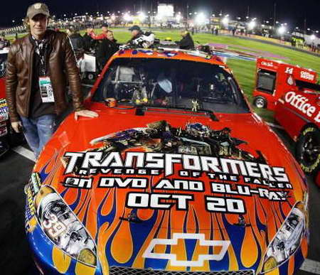 Transformers 2 Michael Bay No 39 Ryan Newman Car