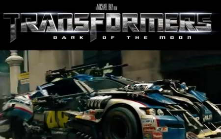 'Transformers 3′ 'Dark of the Moon' Nascar Wreckers