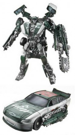 'Transformers 3' - Dark of the Moon Toys - NASCAR Wreckers no 88 Chevy