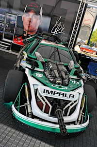 'Transformers 3' NASCAR Wrecker Roadbuster, the No 88 Dale Earnhardt Jr. Chevy at the Daytona 500