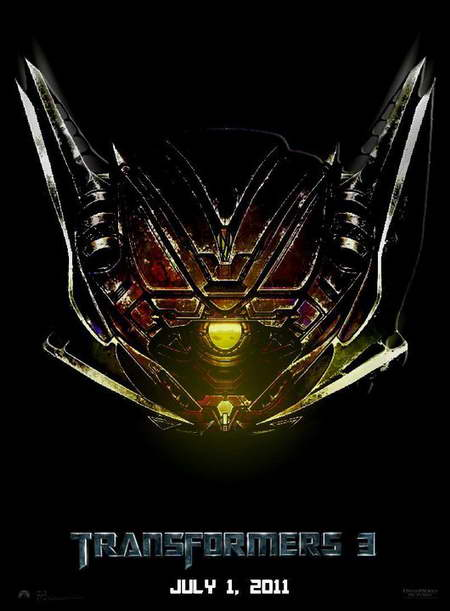 'Transformers 3' Shockwave Movie Poster
