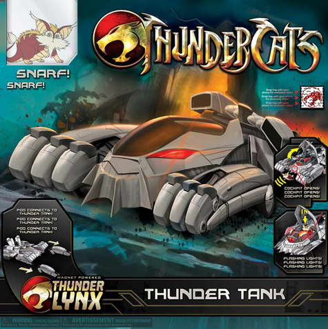 Thundercat Tank on Thundercats    Toy Packaging     The Thunder Tank On Cinema Static