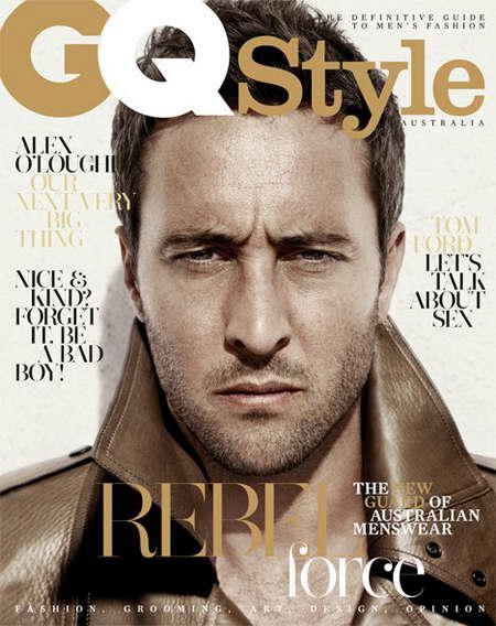 Alex O'Loughlin on the GQ Style cover