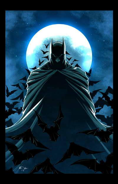 Batman by Erik Von Lehmann on Deviant Art