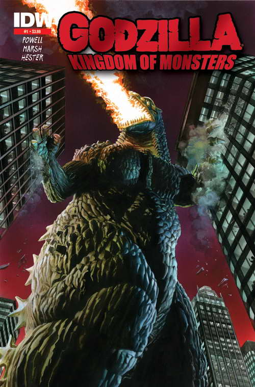 GODZILLA Kingdom of Monsters cover