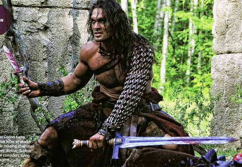 Jason Momoa as 'Conan the Barbarian'