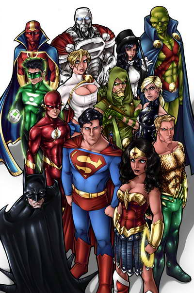 JUSTICE LEAGUE by Adam Withers