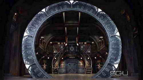 'Stargate Universe' - the Stargate on Destiny