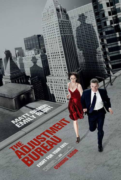 'The Adjustment Bureau' movie poster