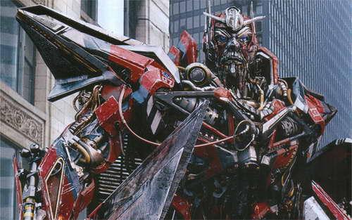 'Transformers 3' Sentinel Prime