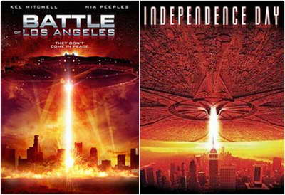 'Battle of Los Angeles' from asylum