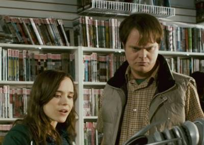 Ellen Page and Rainn Wilson in SUPER