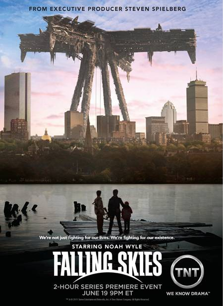 FALLING SKIES Promotional Poster Art