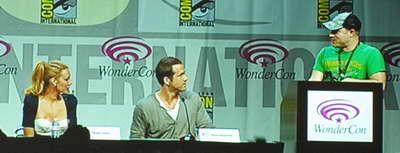 GREEN LANTERN WonderCon 2011 panel with Blake Lively, Ryan Reynolds and Geoff Johns P4016971