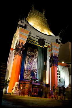 Grauman's Chinese Theatre in Hollywood CA
