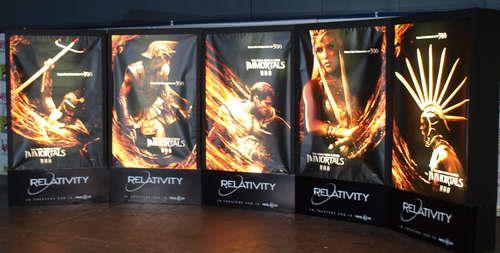 IMMORTALS WonderCon Character Posters