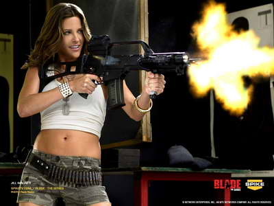 Jill Wagner in 'Blade The Series'