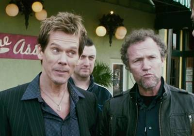 Kevin Bacon and Michael Rooker in SUPER