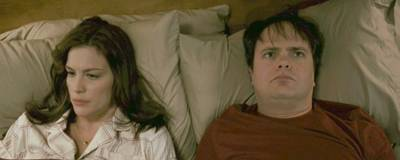 Liv Tyler and Rainn Wilson in SUPER