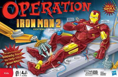 Operation game, 'Iron Man 2'
