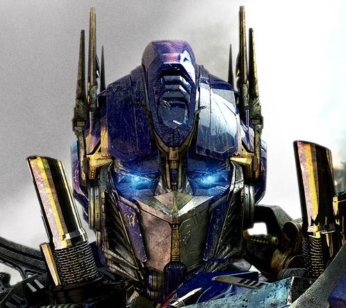 Optimus Prime from 'Transformers 3'