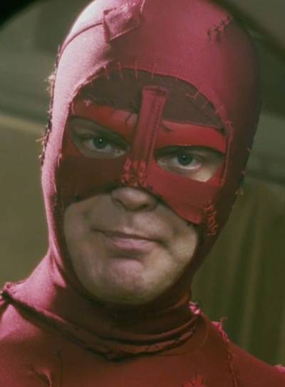 Rainn Wilson is Crimson Bolt in SUPER
