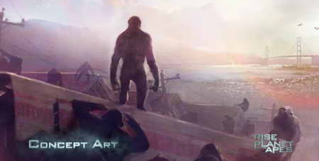 'Rise of the Planet of the Apes' Concept Art 01