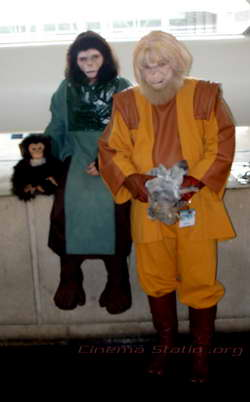 'Rise of the Planet of the Apes' cosplay