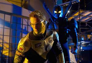 SMALLVILLE Booster Gold and Blue Beetle