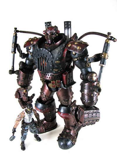 Steam Punk 'Iron Man'
