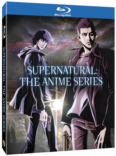 Supernatural The Anime Series BD cover