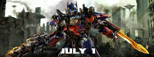 'Transformers 3' Optimus Prime in battle pose 01