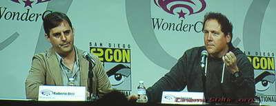 WonderCon Roberto Orci and Jon Favreau COWBOYS and ALIENS P4027139