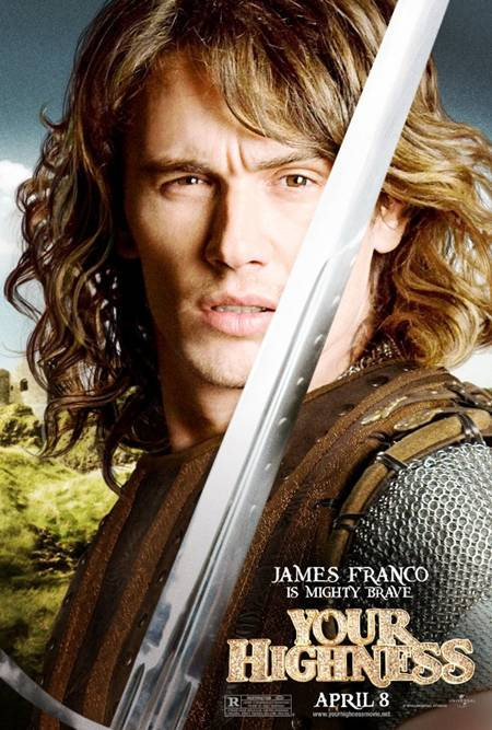 'Your Highness' James Franco promo art