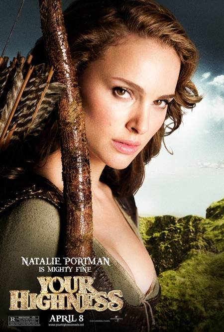 'Your Highness' Natalie Portman promo art