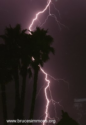 Lightning in So Cal