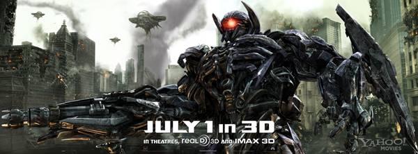 'Transformers 3' promo banner Shockwave