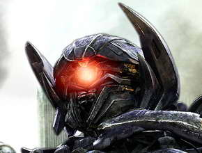 'Transformers 3' Shockwave head shot