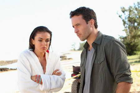 Alex O'Loughlin and Serinda Swan in Hawaii Five-0