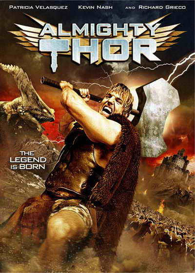 Almighty Thor on the Syfy Channel, from Asylum movie poster