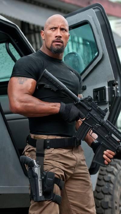 Dwayne Johnson in 'Fast Five'